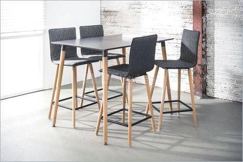 Mesa Alta Asia Edor Moderna Desayunador Madera 130x75x105 Table Home Bar Table