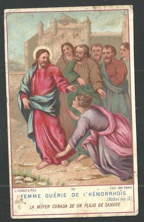 Holy card antique de Jesus estampa andachtsbild image pieuse santino