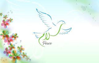 السلام لغة العصر موضوع تعبير عن أهمية السلام Calligraphy Art