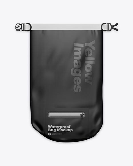 Download Waterproof Bag Mockup Top View In Apparel Mockups On Yellow Images Object Mockups Waterproof Bags Bag Mockup Design Mockup Free