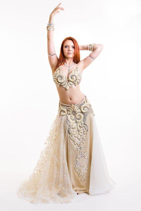 Benevolo Genie Principessa Jasmine Belly Dancer Regina Egiziana Costume