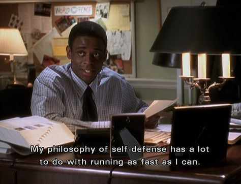 my philosophy of self defense has a lot to do with running as fast as I can- psych Best Tv Shows, Best Shows Ever, Favorite Tv Shows, Movies And Tv Shows, Shawn And Gus, Shawn Spencer, Psych Quotes, Movie Quotes, Tv Quotes