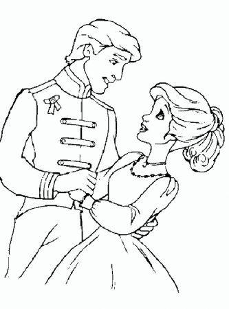 Prinzessin Und Prinz Ausmalbilder Desenhos De Princesas Paginas Para Colorir Princesas