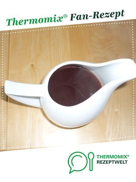 Rotweinsauce Fur Feinschmecker Rezept Thermomix Thermomix Rezepte Weinsosse