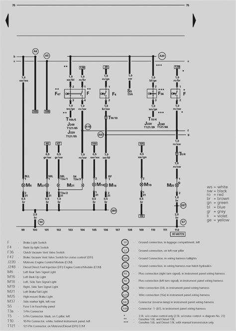 vw golf mk4 rear light wiring diagram - post date : 12 nov 2018(78) source  http://www.sidonline.info/wp-content/uploads/20… | vw golf mk4, vw golf, vw  jetta  pinterest