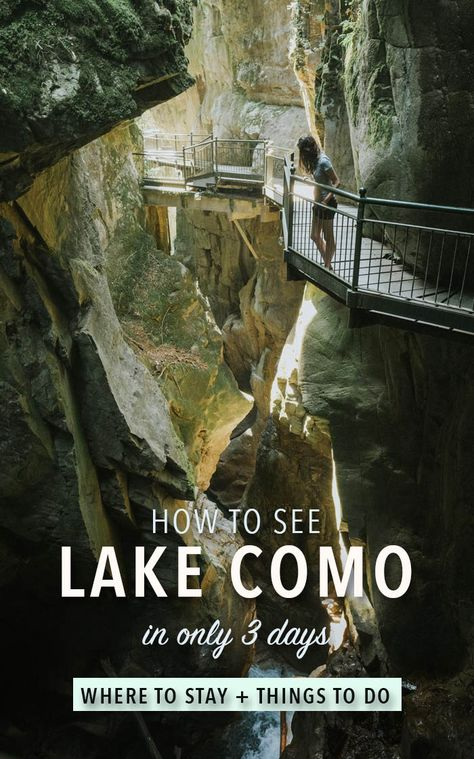 An efficient 3-day Lake Como travel itinerary | Not a Nomad Blog