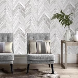 Graham Brown Tuck Grey Vinyl Strippable Wallpaper Covers 56 Sq Ft 100258 The Home Depot Grey Removable Wallpaper Wall Decor Bedroom Grey Wallpaper