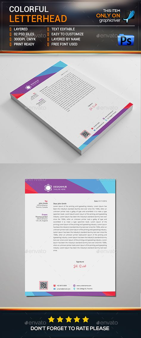 Letterhead Template   Download Free Forms \ Samples For PDF, Word   Free  Letterhead Templates  Free Letterhead Templates For Word