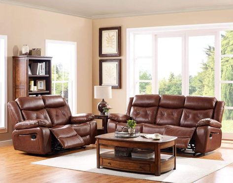 Ncf Furniture Belfast Dual Power Motion Recliner Sofa Loveseat