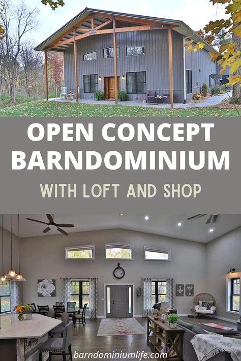 Metal House Plans, Pole Barn House Plans, Garage House Plans, Shop House Plans, Dream House Plans, Small House Plans, House Floor Plans, Loft Floor Plans, Barn Plans