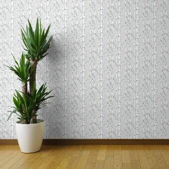Liljenquist 31 1 X 31 1 Peel And Stick Vinyl Wall Paneling In White Wallpaper Panels Textured Wallpaper Wallpaper Roll