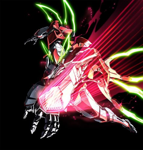 Sunrise Makes Mecha Anime Valvrave the Liberator News via ... #characterdesigns - Stylendesigns.com!