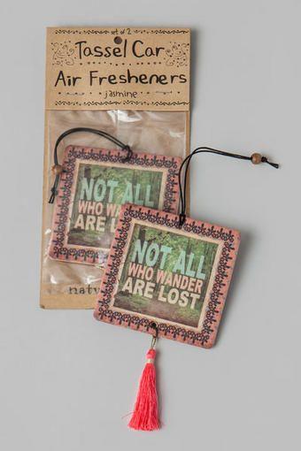 All Who Wander Car Air Freshener
