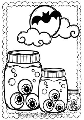 Dibujos De Ojos Tenebrosos De Halloween Para Colorear Art Character Snoopy