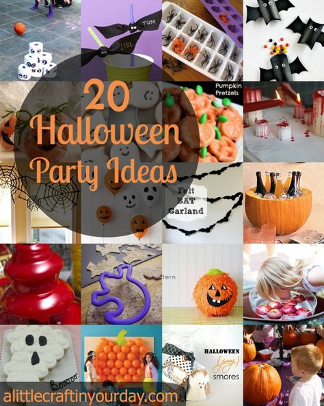 21 Halloween Party Ideas | A Little Craft In Your Day