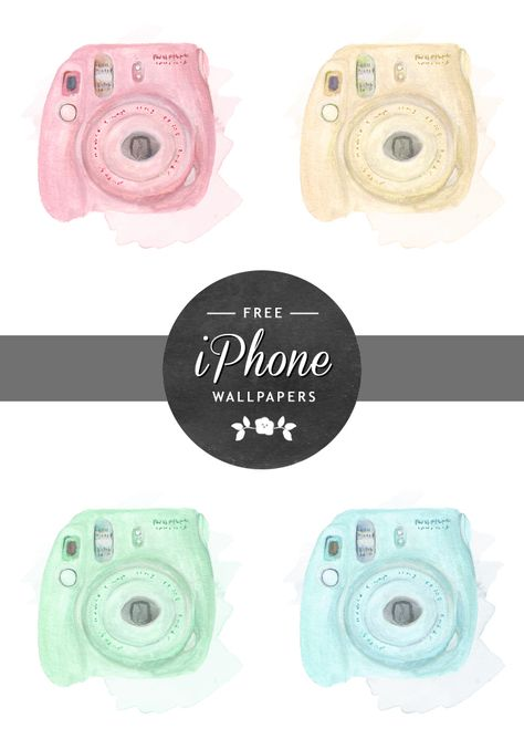 TECH TUESDAY: Instax Mini iPhone Wallpapers... Free! - Wonder Forest
