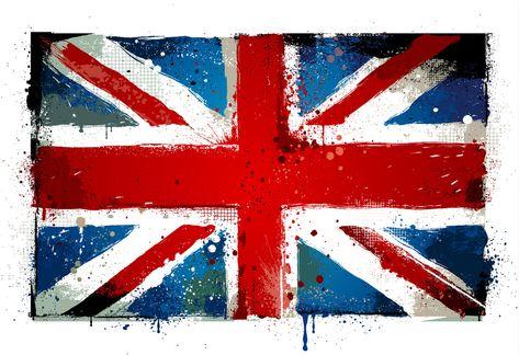 Page De Présentation Anglais Luxury Drapeau Britannique En