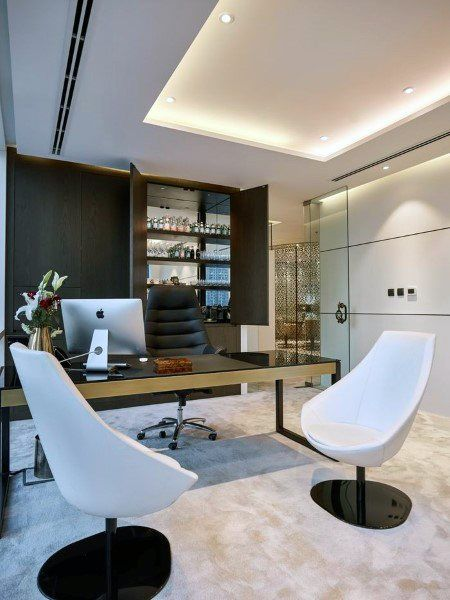 Top 70 Best Modern Home Office Design Ideas Contemporary Working Spaces Small Office Design Modern Office Interiors Office Interior Design Modern