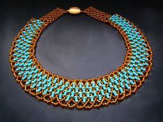 Seed bead jewelry Free pattern for beaded necklace Paula ~ Seed Bead Tutorials Discovred by : Linda Linebaugh