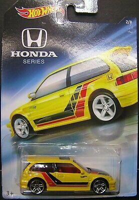 Hot Wheels 1990 Honda Civic Hatchback Honda Series Ebay Honda Civic Honda Civic Hatchback Civic Hatchback