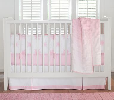 Coastal Tie Dye Baby Bedding Set