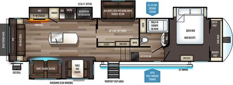 Elkridge 37 Bhs Floorplan Rv Ideas Bhs Fifth Wheel Floor Plans