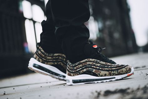 best website 7b407 683c3 Nike Air Max 97 Country Camo Germany - On feet (Right)