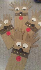 puppet reindeers :)