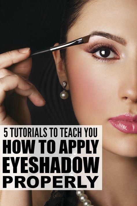 Pretty ways to do your eye makeup