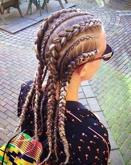 Cornrow Braids White Girl Longhairstyles In 2020 New Braided