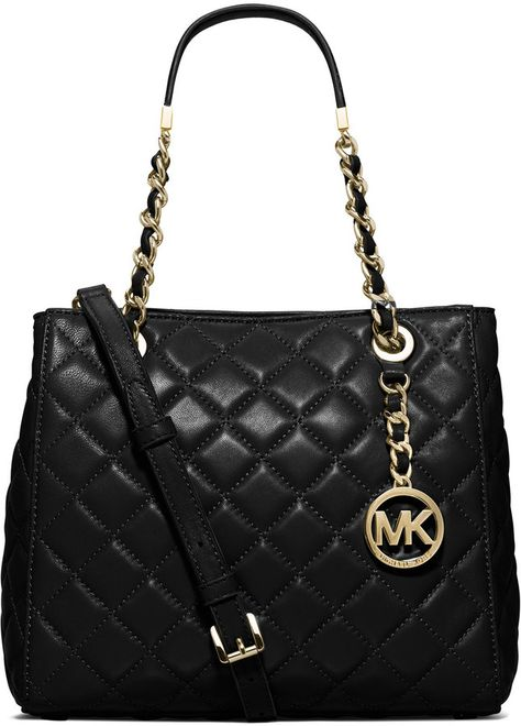 0413f715c2 MICHAEL Michael Kors Susannah Small Quilted Tote Bag