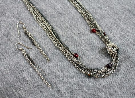 necklace chain - another close-up