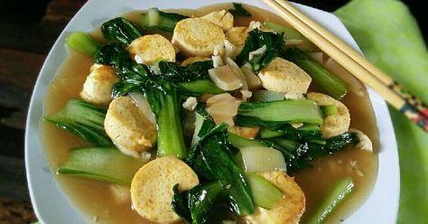Resep Pakcoy Cah Tofu Oleh Dapurvy Resep Tahu Resep Makanan Resep Masakan Indonesia