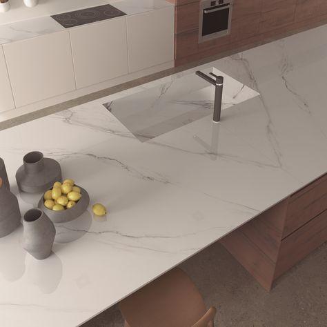 Piano Cucina In Gres Porcellanato.Touche Itopker Top Cucina In Gres Porcellanato By Inalco
