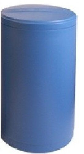 Water Softener Salt Tank Brine Tank Inches With Safety Float 18x33 Inches Round Blue Water Softener Salt Softener Salt Water Softener