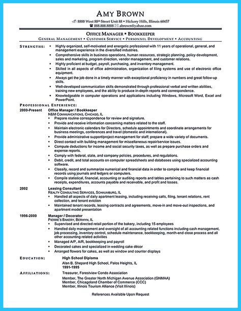 Bookkeeper Resume Cover Letter   Http\/\/wwwresumecareerinfo   Full Charge  Bookkeeper Resume  Full Charge Bookkeeper Resume