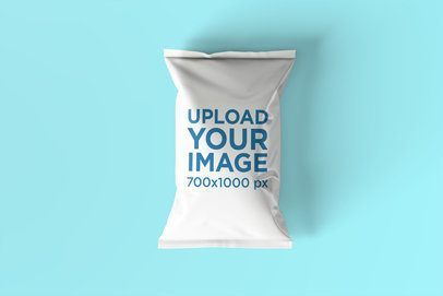 Download Placeit Chips Bag Mockup Featuring A Customizable Background Bag Mockup Promotional Image How To Make Logo