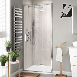 1100mm 8mm Premium Easyclean Hinged Shower Door Shower Doors Frameless Shower Doors Shower Cubicles