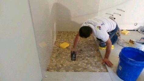 95 Rock Pebble Flooring Ideas Flooring Shower Floor Pebble Tile