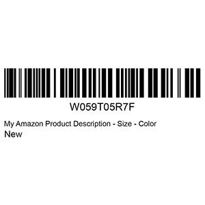 Sellers Who Use Fulfillment By Amazon Need A Barcode To Track Inventory Through The Fulfillment Process But Whic Barcode Labels Printing Labels Label Printer