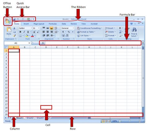 Excel 2007 Computers Pinterest - blank histogram template