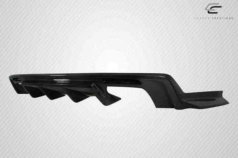 For 2016 2018 Chevrolet Camaro Carbon Fiber Grid Rear Diffuser 1 Piece 113050 In 2021 Chevrolet Camaro Camaro Carbon Fiber