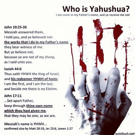 The sacred Hebrew name for Yahushua is composed of
