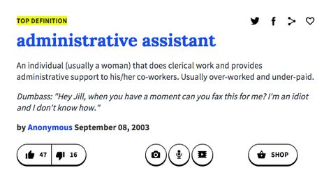 Administrative assistant Humor - administrative assistant job description