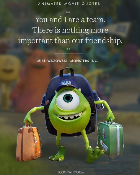 15 Animated Movies Quotes That Are Important Life Lessons