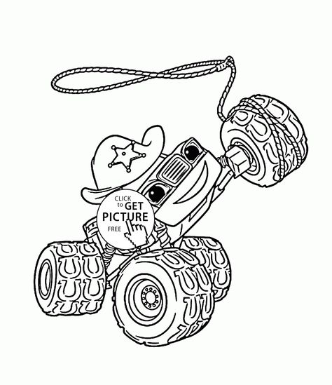 Blaze Monster Truck Starla Coloring Page For Kids Transportation Coloring Pages Print Monster Truck Coloring Pages Truck Coloring Pages Monster Coloring Pages