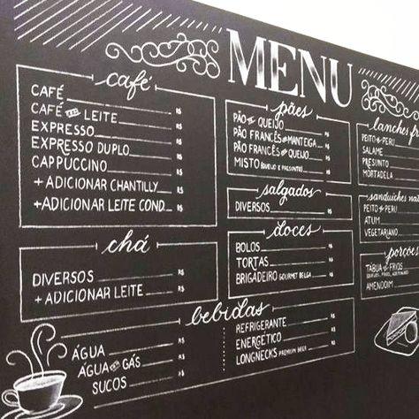 Chalk Lettering A Return To Low Tech Creativepro Com Coffee Menu Cafe Menu Boards Coffee Shop Menu