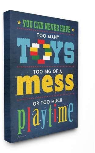 Farnum Toys Mess And Playtime Canvas Art Stretched Canvas Wall Art Wall Canvas Kids Canvas