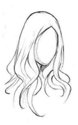 Trendy Hair Drawing Easy Anime Girls 68 Ideas Girl Hair Drawing Cartoon Drawings How To Draw Hair