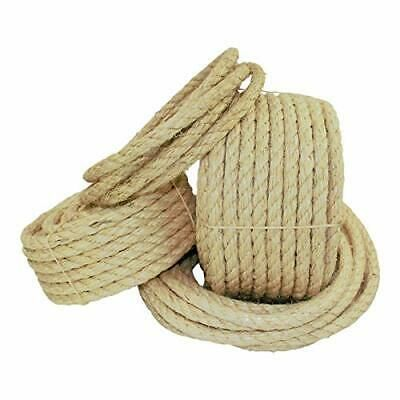 Twisted Sisal Rope 1 2 Inch Sgt Knots All Natural Fibers Moisture Weather 816139024004 Ebay In 2020 Sisal Rope Natural Fibers Sisal